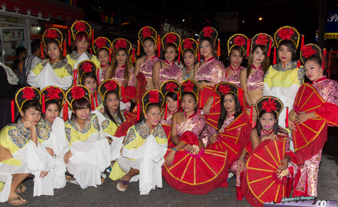 Chinese New Year Parade in Angeles City